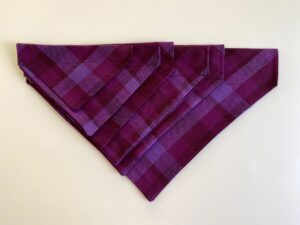 purple plaid
