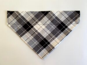 white grey stripe plaid